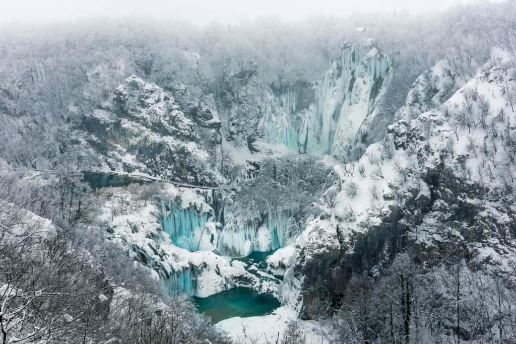 plitvička jezera nacionalni park hrvatska